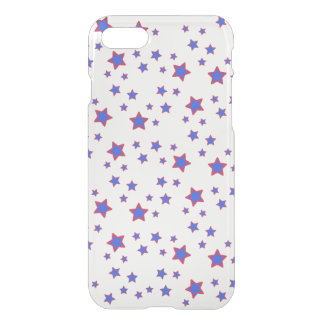 Red, White, and Blue Stars iPhone 7 Case