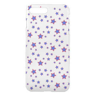 Red, White, and Blue Stars iPhone 7 Plus Case