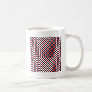 Red White And Blue Stars Coffee Mugs