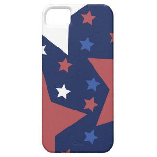 red white and blue stars phone case iPhone 5 cases