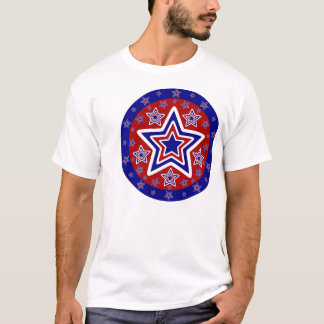 Red White and Blue Stars T-Shirt