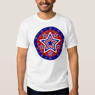 Red White and Blue Stars Tshirt