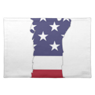 Red White And Blue Statue Of Liberty Placemat