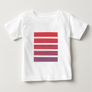 Red, White and Blue Stripe Infant Tee Shirt