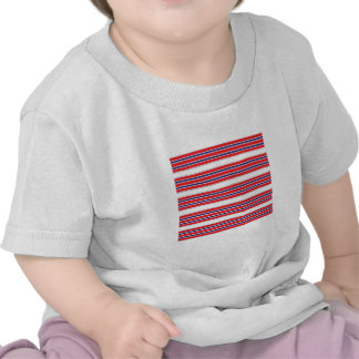 Red White and Blue Stripe Infant Tee Shirt