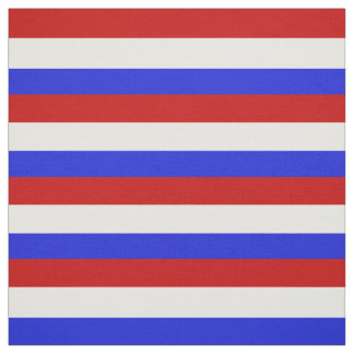Red, white and blue stripe, stripes, striped fabric