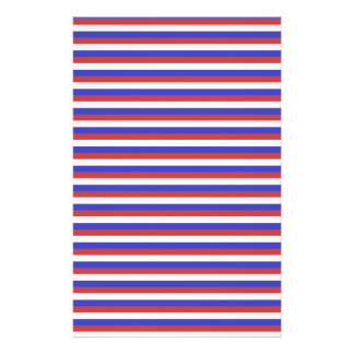 Red, White and Blue Stripes. Full Color Flyer