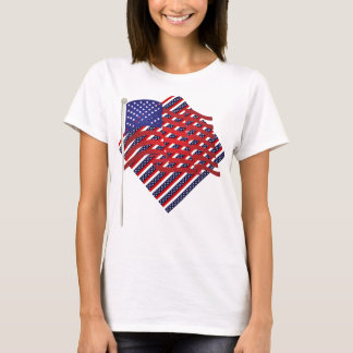 Red, White, And Blue Stripes T-Shirt