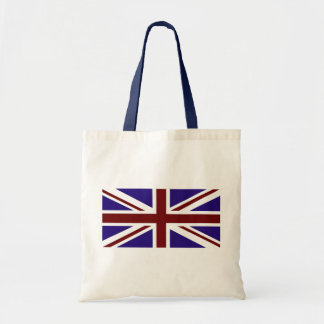 Red White and Blue Union Flag Tote Bag