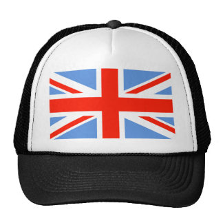 Red White and Blue Union Jack UK Flag Hats