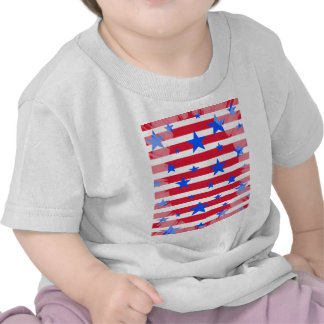 Red White and Blue USA Stars and Stripes Shirt