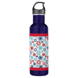 Red White and Blue Water Bottle 710 Ml Water Bottle