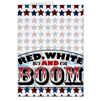 Red White and Boom Card