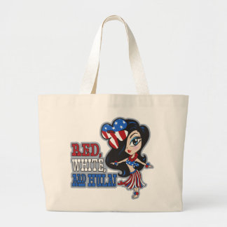 Red, White and Hula Bags & Totes