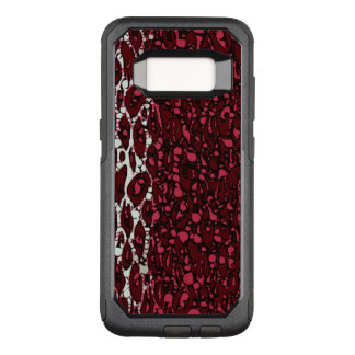 Red White Animal OtterBox Commuter Samsung Galaxy S8 Case