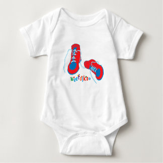 Red, White, & Blue Baby Shoes Tshirt