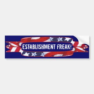 Red, White & Blue Banners Bumper Sticker