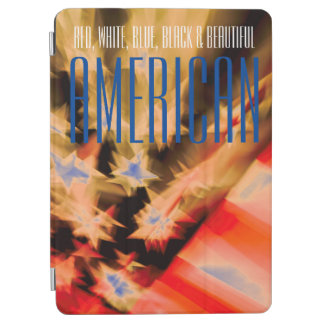 Red, White, Blue, Black & Beautiful American iPad Air Cover