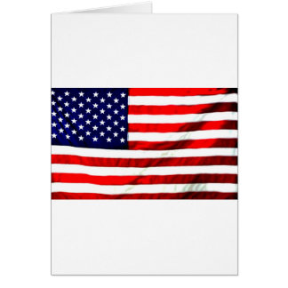 Red White Blue Card