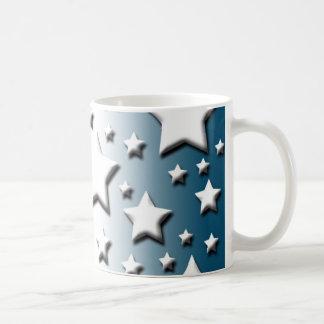 Red White Blue Classic White Coffee Mug