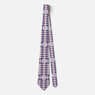 Red, White, & Blue Diamonds Tie