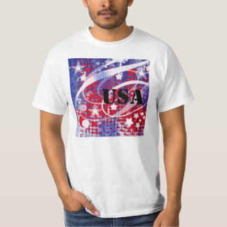 Red, White & Blue Glory Personalized T-shirts