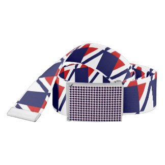 Red White Blue Houndstooth Belt