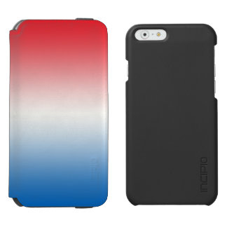 Red White & Blue Ombre Incipio Watson™ iPhone 6 Wallet Case