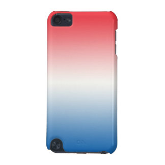 Red White & Blue Ombre iPod Touch 5G Cases