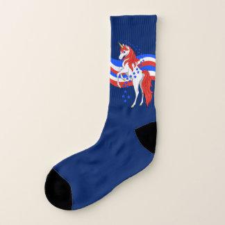 Red White Blue Patriotic American Unicorn 1