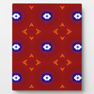 Red White Blue Patriotic Summer Colors Plaque