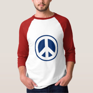 Red, White & Blue Peace T-Shirt