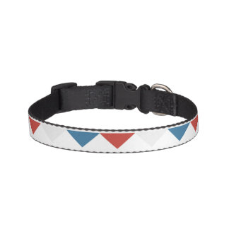 Red, White & Blue Pet Collar