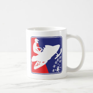 red-White-Blue-Sled-zazzle Coffee Mug