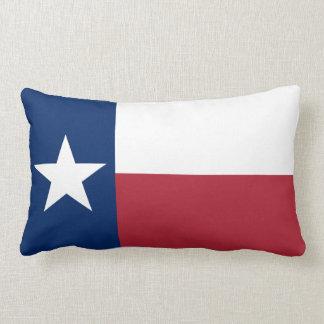 Red White Blue Texas Flag Lumbar Cushion