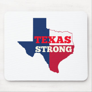 "Red, White & Blue ""Texas Strong"" Mouse Pad"