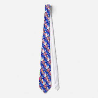 Red, White & Blue Tie