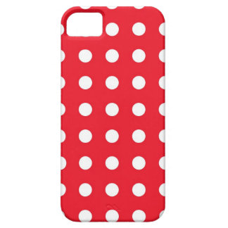 Red White Chic Polka Dot iPhone 5/5S Case