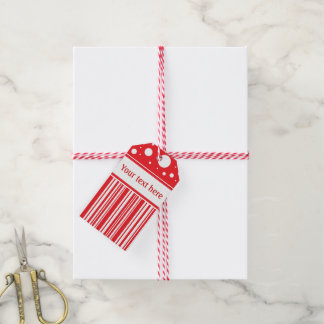 Red & White Christmas Gift Tags