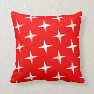 "red white cross Polyester  Throw Pillow 16"" x 16"""