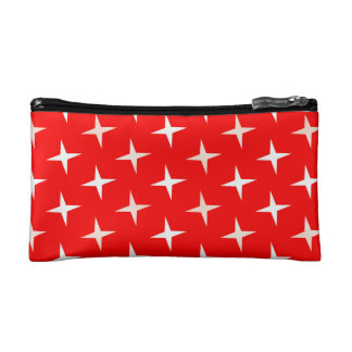 red white cross Small Cosmetic  Bag
