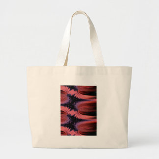 red wicker boxes jumbo tote bag