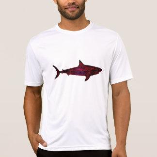 red wild shark T-Shirt