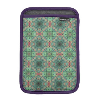 Red Wild Weave iPad Mini Rickshaw Sleeve