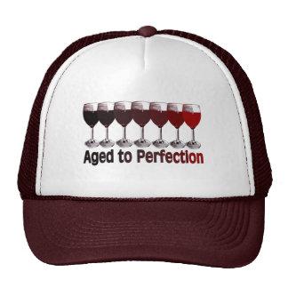 Red Wine Birthday Mesh Hat