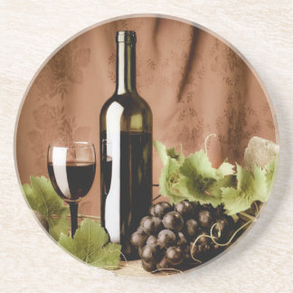 Red wine coasters