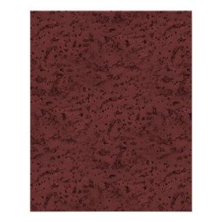 Red Wine Cork Look Wood Grain 11.5 Cm X 14 Cm Flyer