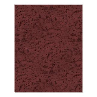 Red Wine Cork Look Wood Grain 21.5 Cm X 28 Cm Flyer