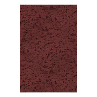 Red Wine Cork Look Wood Grain Full Color Flyer
