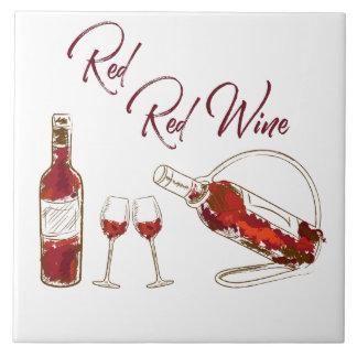 Red Wine Decorative Tile